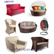 Плетёная мебель из искусственного ротанга (техноротанга), всесезонная мебель премиум класса