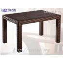 Кофейный столик плетёный Klasik-1535, из техноротанга, искусственного ротанга, всесезонная мебель ручной работы от отечественного производителя.