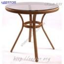 Стол плетёный Klasik-1531, из техноротанга, искусственный ротанга, всесезонный, для ресторана, кафе, бара, летней площадки, террассы....