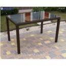 Стол плетёный Klasik-1532, из техноротанга, искусственный ротанга, всесезонный, для ресторана, кафе, бара, летней площадки, террассы....