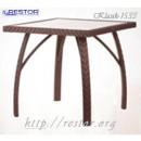 Стол плетёный Klasik-1533, из техноротанга, искусственный ротанга, всесезонный, для ресторана, кафе, бара, летней площадки, террассы....
