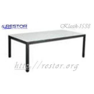 Плетёный стол Klasik-1538, Техноротанг (Искусственный ротанг), Всесезонная мебель, для летней площадки, террассы....