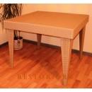 Стол плетёный Klasik-1529.1, разборной из техноротанга, искусственный ротанга, всесезонный, для ресторана, кафе, бара, летней площадки, террассы....