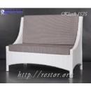 Диванчик плетёный Klasik-1525, техноротанг, искусственный ротанг, всесезонная мебель, для летней площадки, кафе, бара, ресторана террассы....