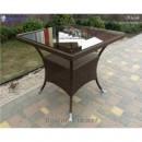 Стол плетёный Klasik-1508, техноротанг (искусственный ротанг), всесезонная мебель, для летней площадки, террассы....