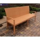 Диван плетёный Klasik-1513, техноротанг (искусственный ротанг), всесезонная мебель, для летней площадки, террассы....