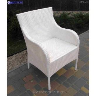 Плетёное кресло Klasik-1527, Техноротанг (Искусственный ротанг), Всесезонное, для кафе,бара,ресторана, летней площадки, отеля, террассы....