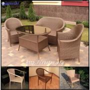 Плетёная мебель из искусственного ротанга, всесезонная мебель премиум класса серии Классик