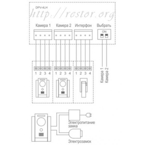 Инструкция commax dpv 4lh