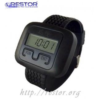 Пейджер официанта, в форме наручных часов Pager Watches HCM-5000 Restor ®