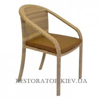 Стул плетеный из полиротанга Брауни (Rest-1510) - Restor®