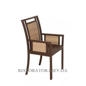 Стул - Кресло плетеное из полиротанга Гранд Фамилиа (Rest-1506) - Restor®