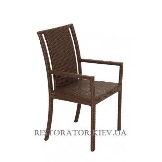 Стул плетеный из полиротанга Гранд (Rest-1507) - Restor®