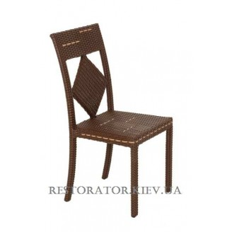 Стул плетеный из полиротанга Карпаты (Rest-1502) - Restor®