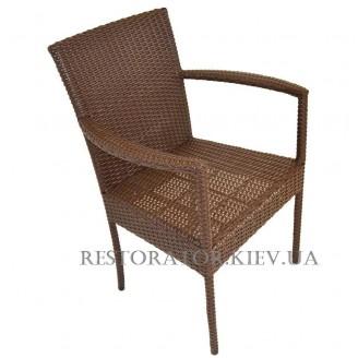 Стул плетеный из полиротанга Львов (Rest-1509) - Restor®