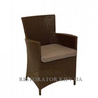 Кресло плетеное из полиротанга Беллини (Rest-1515) - Restor®