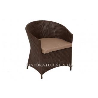 Кресло плетеное из полиротанга Брауни (Rest-1517) - Restor®