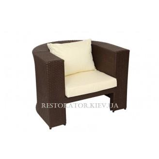 Кресло плетеное из полиротанга Фелисити (Rest-1511) - Restor®
