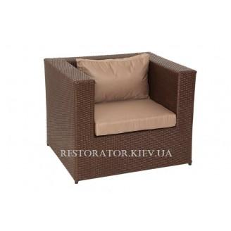 Кресло плетеное из полиротанга Квадро (Rest-1519) - Restor®
