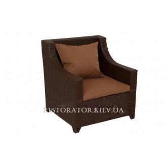 Кресло плетеное из полиротанга Ника (Rest-1516) - Restor®