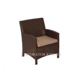 Кресло плетеное из полиротанга Одесса (Rest-1518) - Restor®