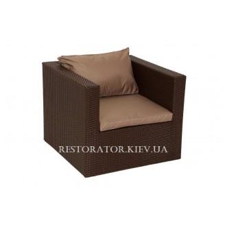 Кресло плетеное из полиротанга Венеция (Rest-1514) - Restor®