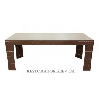 Стол плетеный из полиротанга Карпати (Rest-1521) - Restor®