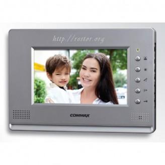 Видеодомофон CDV-70A Silver, Black, Commax, цветной, Restor®