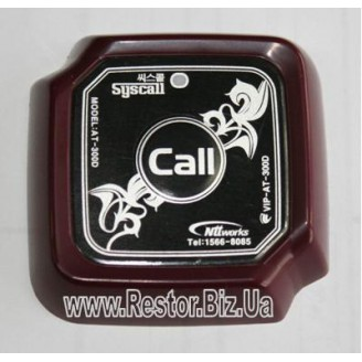 Кнопка вызова Syscall AT-300D Black/Wine, Restor