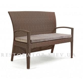 Плетеный диван из полиротанга Калифорния 2 местный - Restor®
