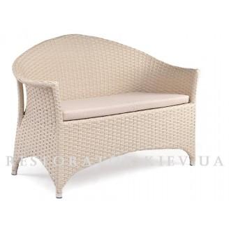 Плетеный диван из полиротанга Марокко 3 местный - Restor®