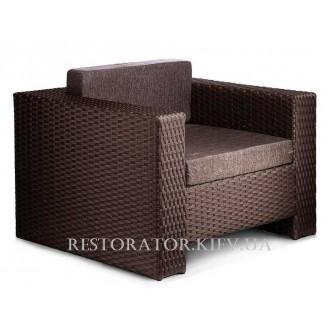 Кресло плетеное из полиротанга Гранд 1000*850 - Restor®