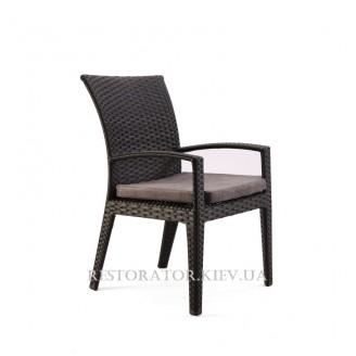 Кресло плетеное из полиротанга Калифорния - Restor®