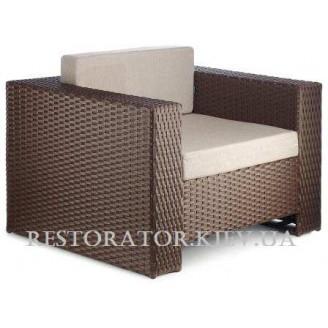 Кресло плетеное из полиротанга Гранд - Restor®