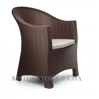 Кресло плетеное из полиротанга Комфорт - Restor®