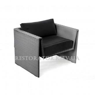 Кресло плетеное из полиротанга Оригами - Restor®