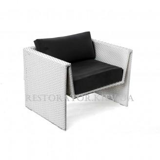 Кресло плетеное из полиротанга Оригами 910*730*650*330 - Restor®