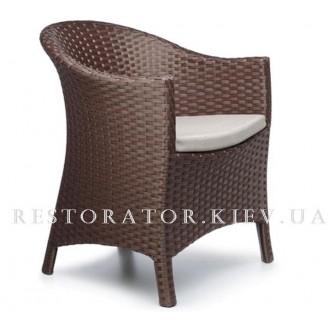 Кресло плетеное из полиротанга Парадиз - Restor®