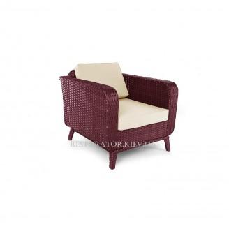 Кресло плетеное из полиротанга Теннесси - Restor®