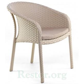 Кресло плетеное из полиротанга Блюз - Restor®