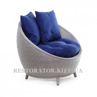 Кресло плетеное из полиротанга Киви - Restor®