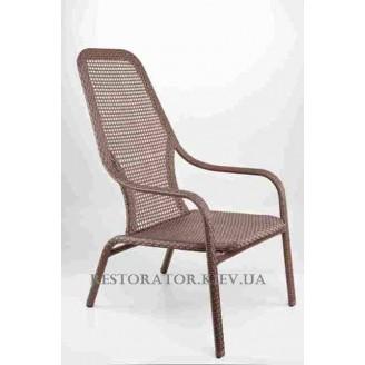Кресло плетеное из полиротанга Лэйзи высокое - Restor®