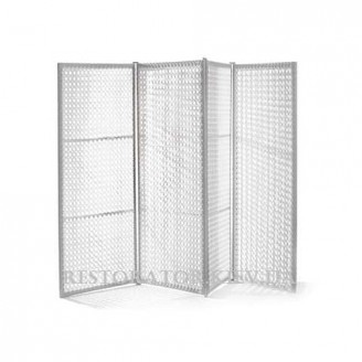 Перегородка плетеная из полиротанга Классик восьмиугольное плетение - Restor®
