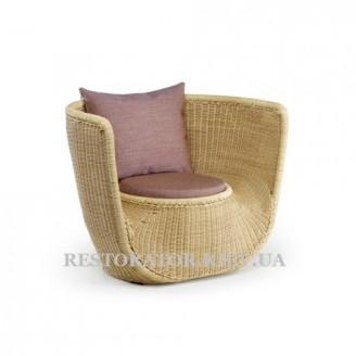 Кресло плетеное из полиротанга Фиджи - Restor®