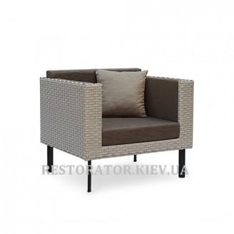 Кресло плетеное из полиротанга Тетрис - Restor®