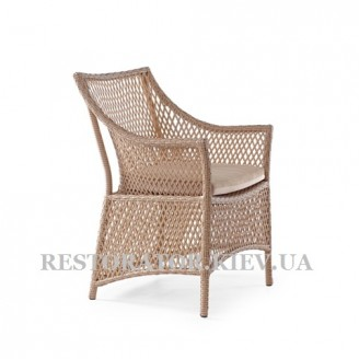Кресло плетеное из полиротанга Грейс - Restor®