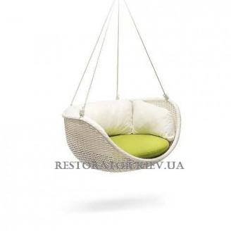 Кресло плетеное из полиротанга Невада подвесное - Restor®