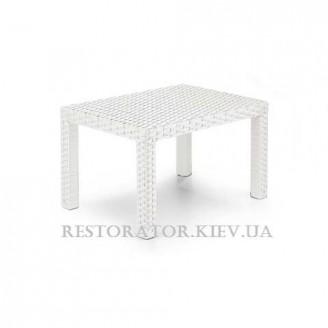 Стол плетеный из полиротанга Аризона 600 HPL - Restor®