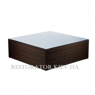 Стол плетеный из полиротанга Оазис 900 - Restor®