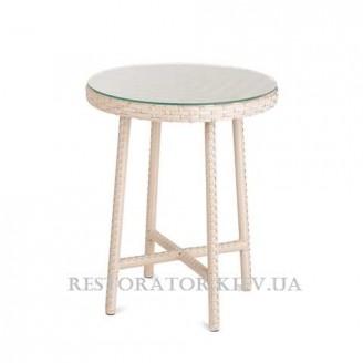 Стол плетеный из полиротанга Бейсик классическое плетение - Restor®